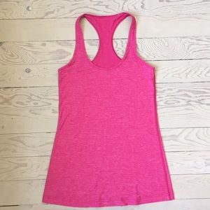 Lululemon Tank Top Size 6 Heathered Pink
